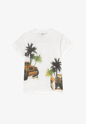 ASK  - Print T-shirt - white