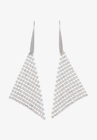 Swarovski - FIT - Earrings - silver-coloured - 3