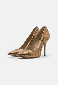 San Marina - GALICIA BIUTA - High heels - camel/or - 2