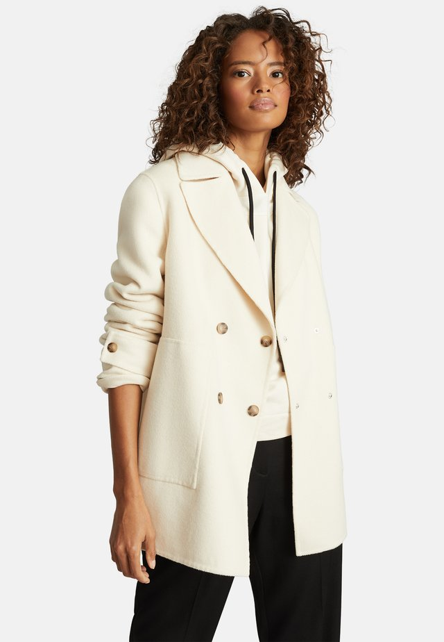 AMBER - Short coat - cream