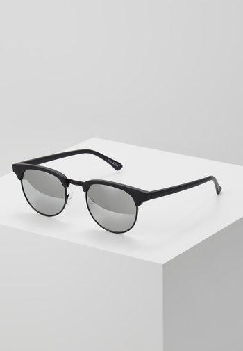 UNISEX - Sunglasses - black/silver