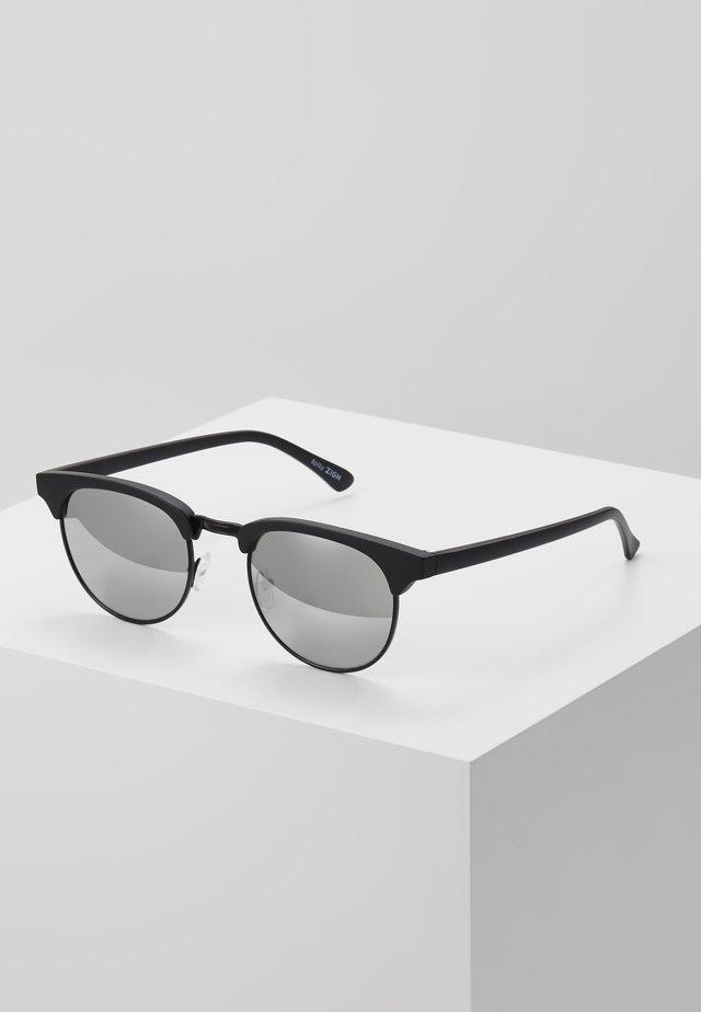 UNISEX - Okulary przeciwsłoneczne - black/silver