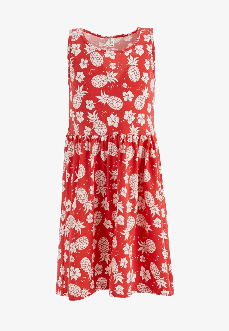 DeFacto - Jersey dress - red