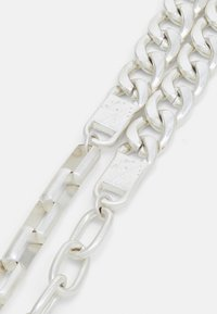 Icon Brand - ALL MIXED UP DIFFERENT CHAINS NECKLACE - Necklace - silver-coloured - 2