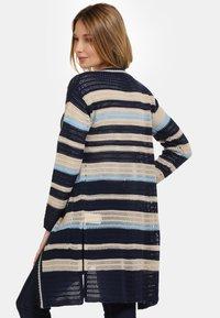 usha - Cardigan - beige/dark blue - 2
