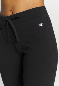 Champion - DRAWSTRING PANTS - Pantalones deportivos - black - 3