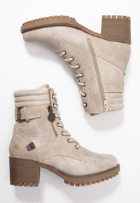 Dockers by Gerli - Lace-up ankle boots - ice - 3