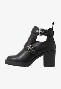 ONLY SHOES - ONLBARBARA DOUBLE STRAP HEELED - Ankle boot - black - 1