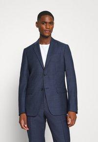 Calvin Klein Tailored - SPECKLED SUIT - Suit - blue - 2