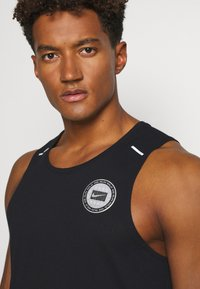 Nike Performance - MILER TANK - Sports shirt - black/sail/silver - 4
