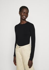 Max Mara Leisure - ASIAGO - Long sleeved top - schwarz - 0