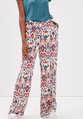 Trousers - multicolore