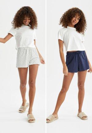 2 PACK - Shorts - white