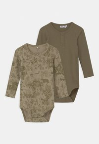 Name it - NBMDIOTTO  2 PACK - Body - moss gray - 0