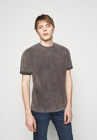DRYKORN - THILO - T-shirt basic - dark grey - 0