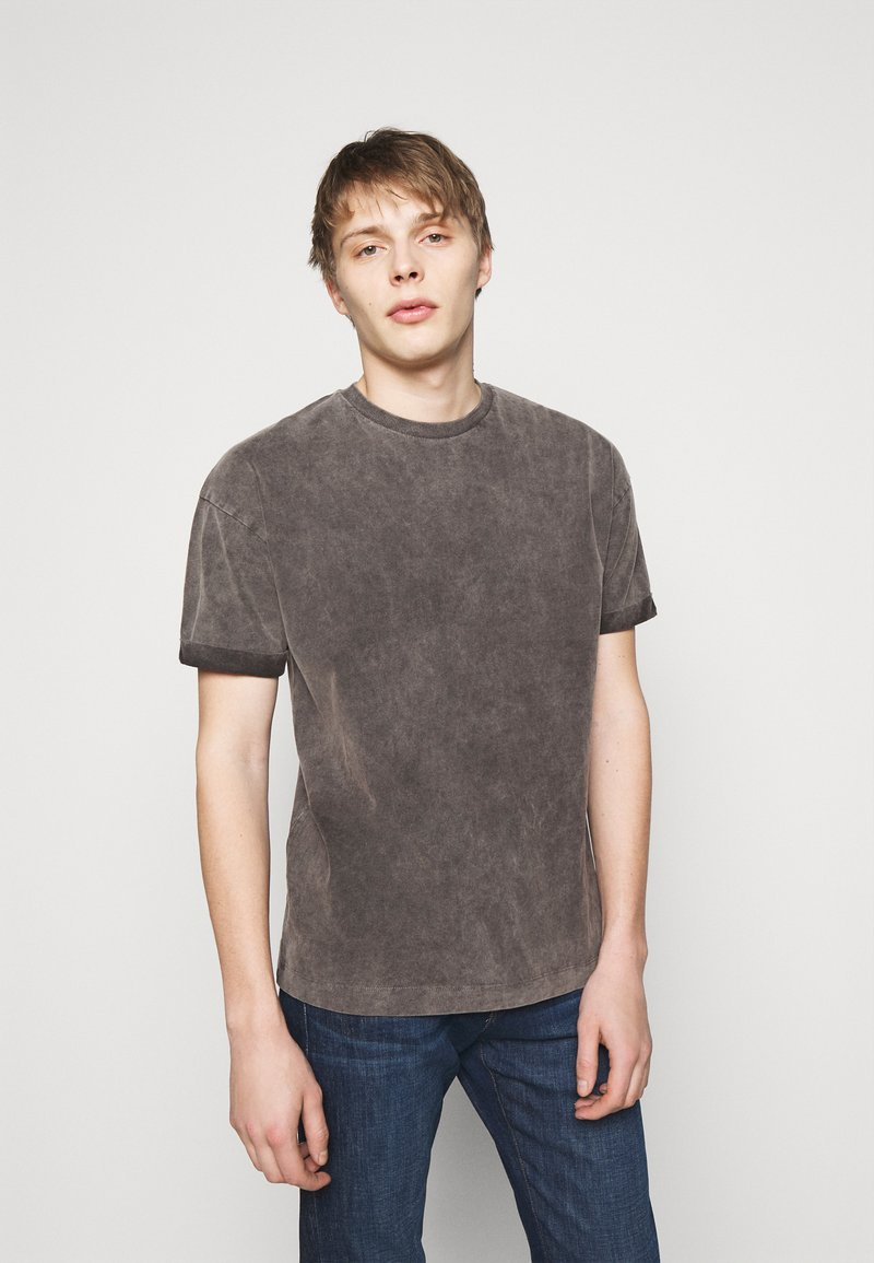 DRYKORN - THILO - T-shirt basic - dark grey