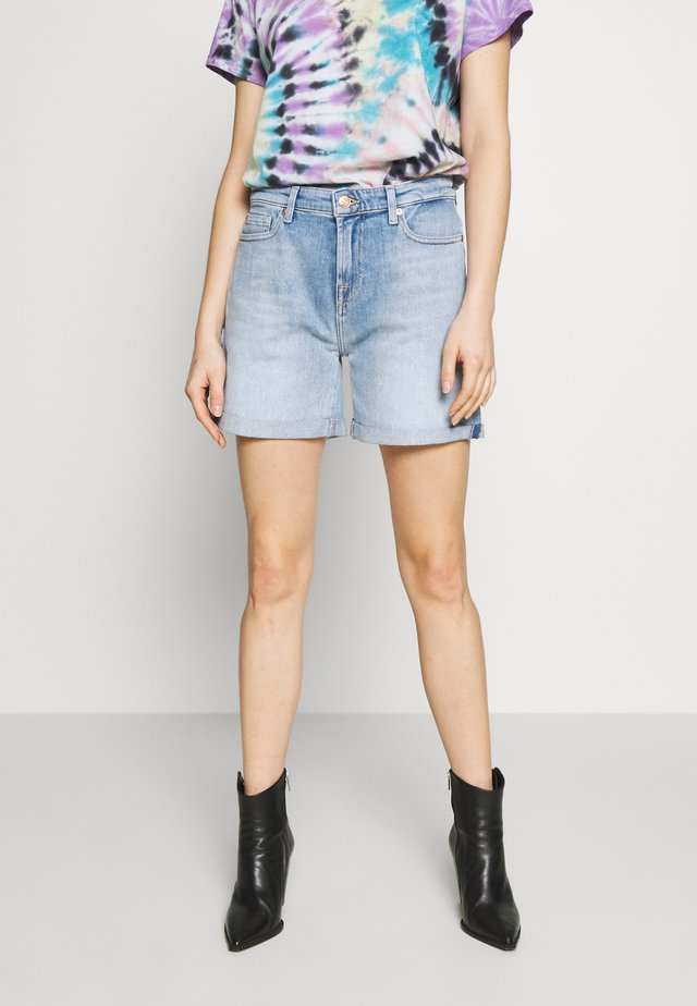 BOY - Denim shorts - light blue