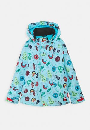 ELODIE FLOWER POWER - Snowboardjacke - light blue/multicoloured