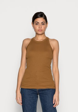 Top - brown ochre