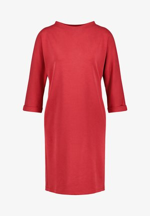 3/4 ARM - Jersey dress - electric red