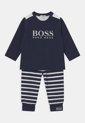 SET - Trousers - navy