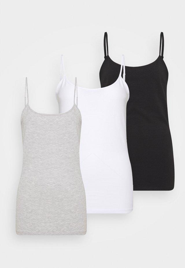 3 PACK - Topper - black/white