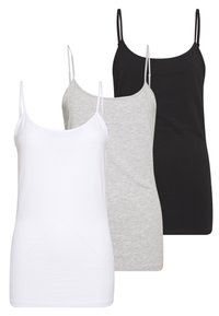 Anna Field - 3 PACK - Top - black/white - 0
