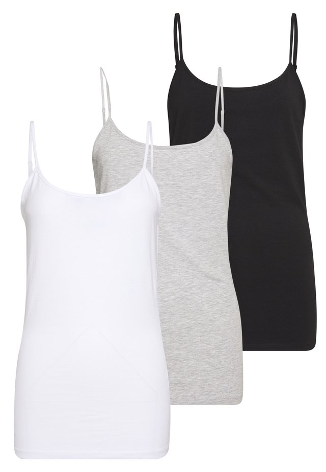 3 PACK - Toppe - black/white