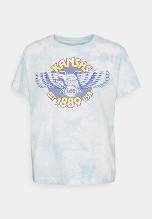CREW TEE - Basic T-shirt - sky blue