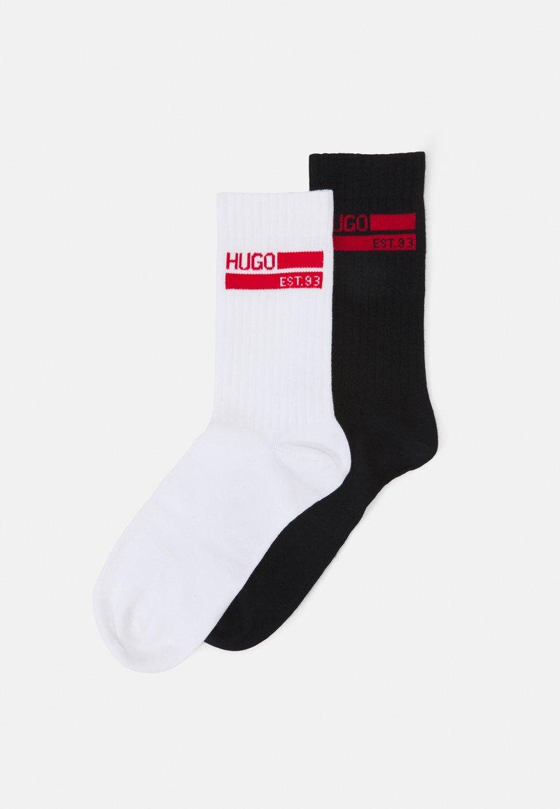 HUGO - GIFTSET 2 PACK - Ponožky - white/black