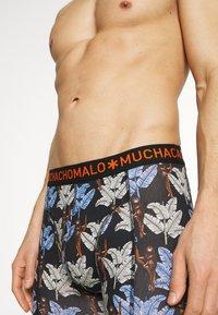 MUCHACHOMALO - BANANA 5 PACK - Boxerky - black/khaki/blue - 4
