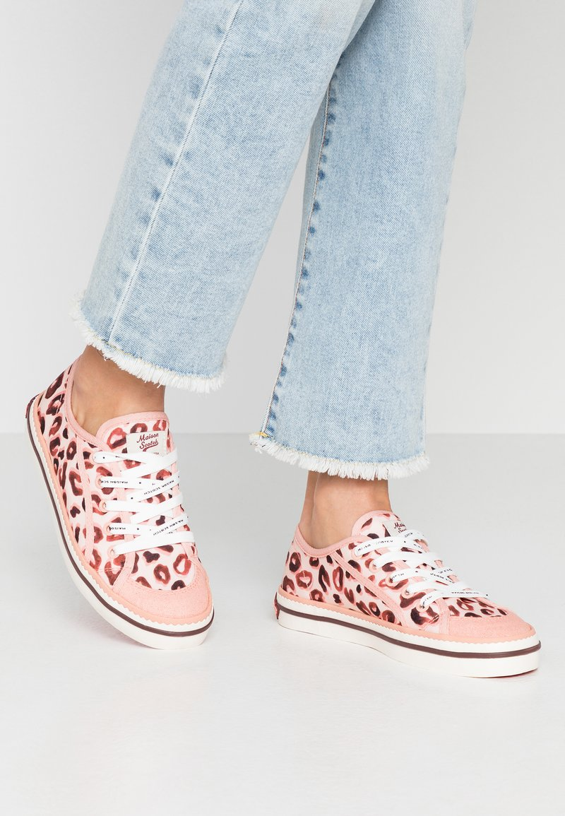 Scotch & Soda - MELLI LACE SHOES - Trainers - light pink