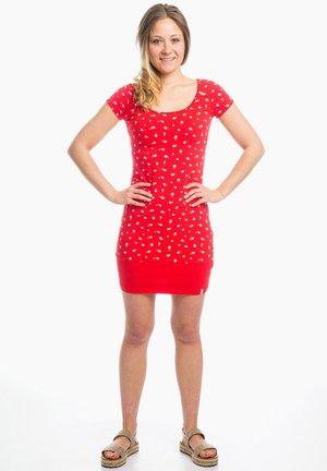 LOTTA  - Jersey dress - red