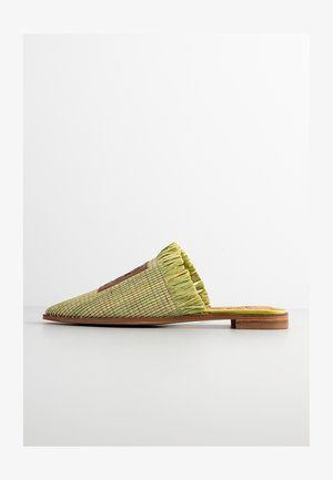 KALIN - Mules - lentil sprout green