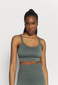 Even&Odd active - SEAMLESS SET - Top - green - 0
