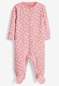 Next - 3 PACK - Sleep suit - pink - 2