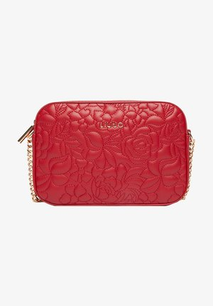 Across body bag - glossy red
