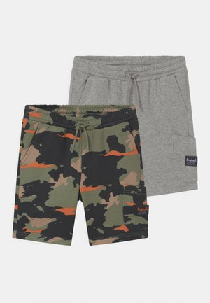 JJISTONE 2 PACK - Shorts - light grey melange