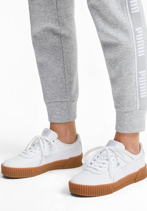 CARINA  - Sneakers laag - puma white-puma white-gum