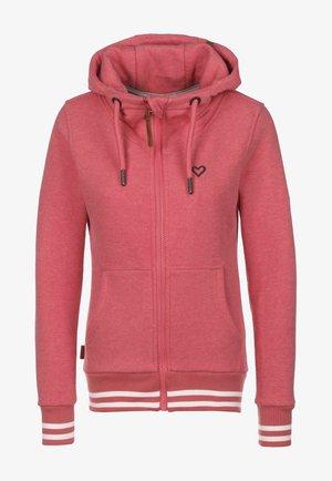 YASMIN - Zip-up hoodie - candy