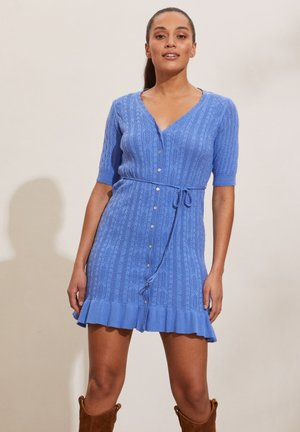LAURA - Jumper dress - cornflower blue