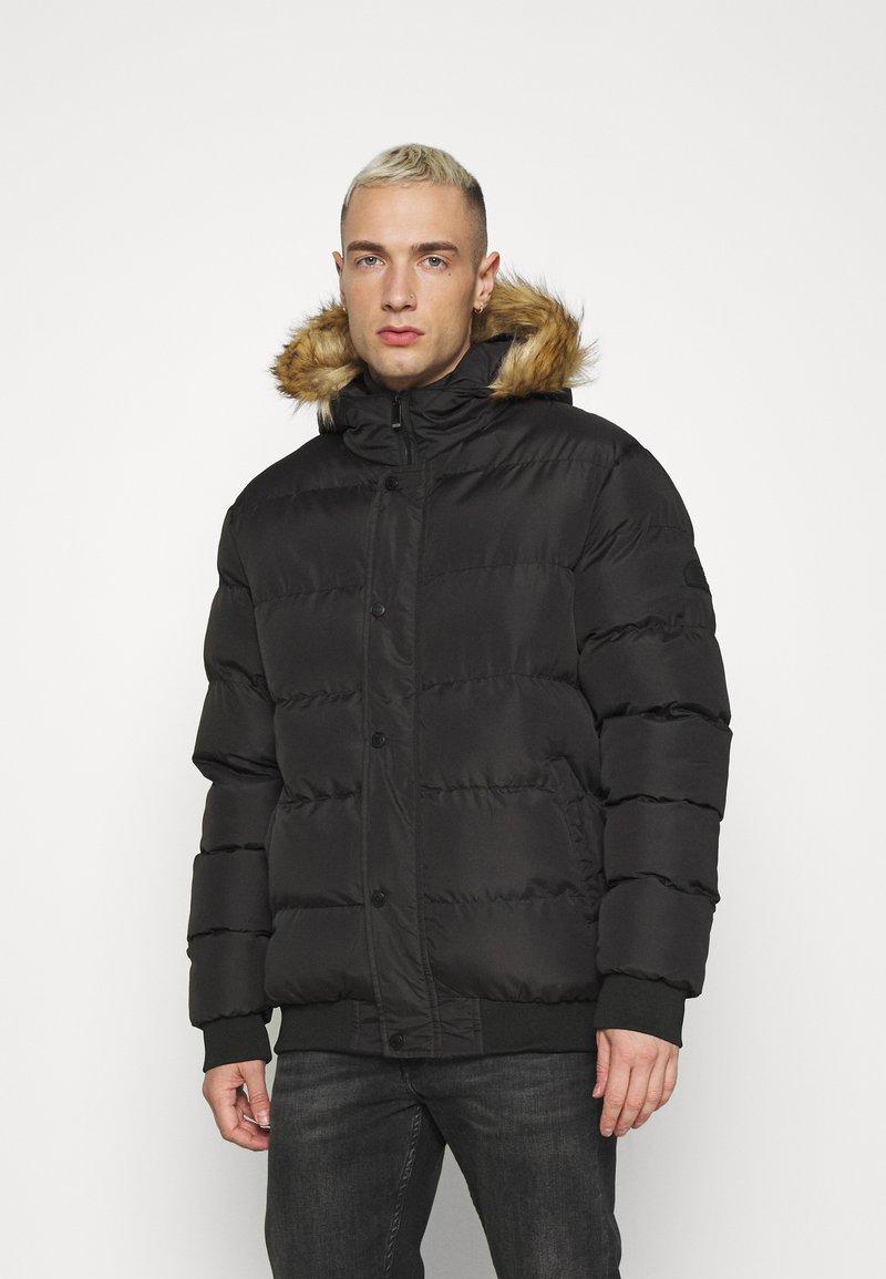 Newport Bay Sailing Club - Winter jacket - black
