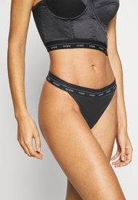 Guess - THONG - Thong - jet black - 0