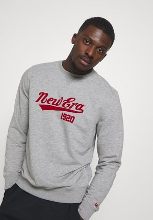 NEW ERA NEW ERAHERITAGE CREW - Sweatshirt - grey