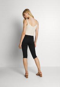 JDY - JDYNIKKI LIFE MIX - Denim shorts - black denim - 2