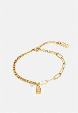 LINK CHAIN BRACELETS - Bracelet - gold-coloured