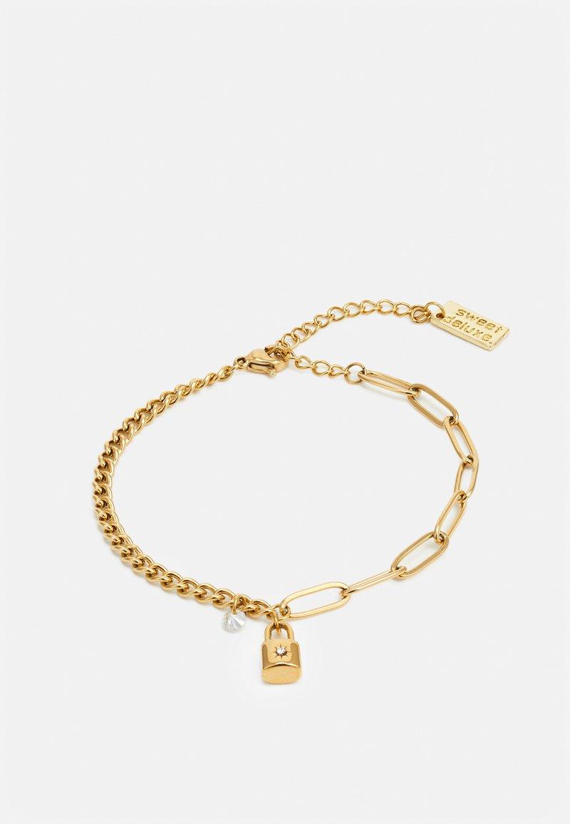sweet deluxe - LINK CHAIN BRACELETS - Bracelet - gold-coloured