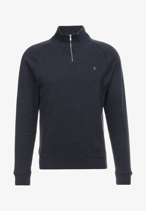 JIM ZIP - Sweater - true navy marl