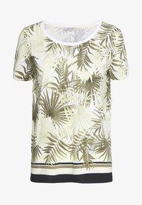 comma casual identity - T-shirt imprimé - white - 0