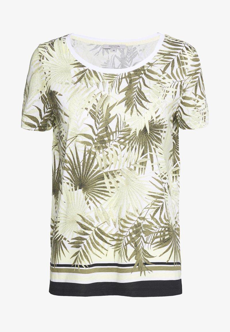 comma casual identity - T-shirt imprimé - white
